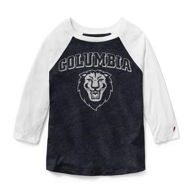 Columbia University Womens Reverse Baseball T Shirt