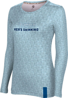 Women's ProSphere Sublimated Long Sleeve Tee - Women's Swimming