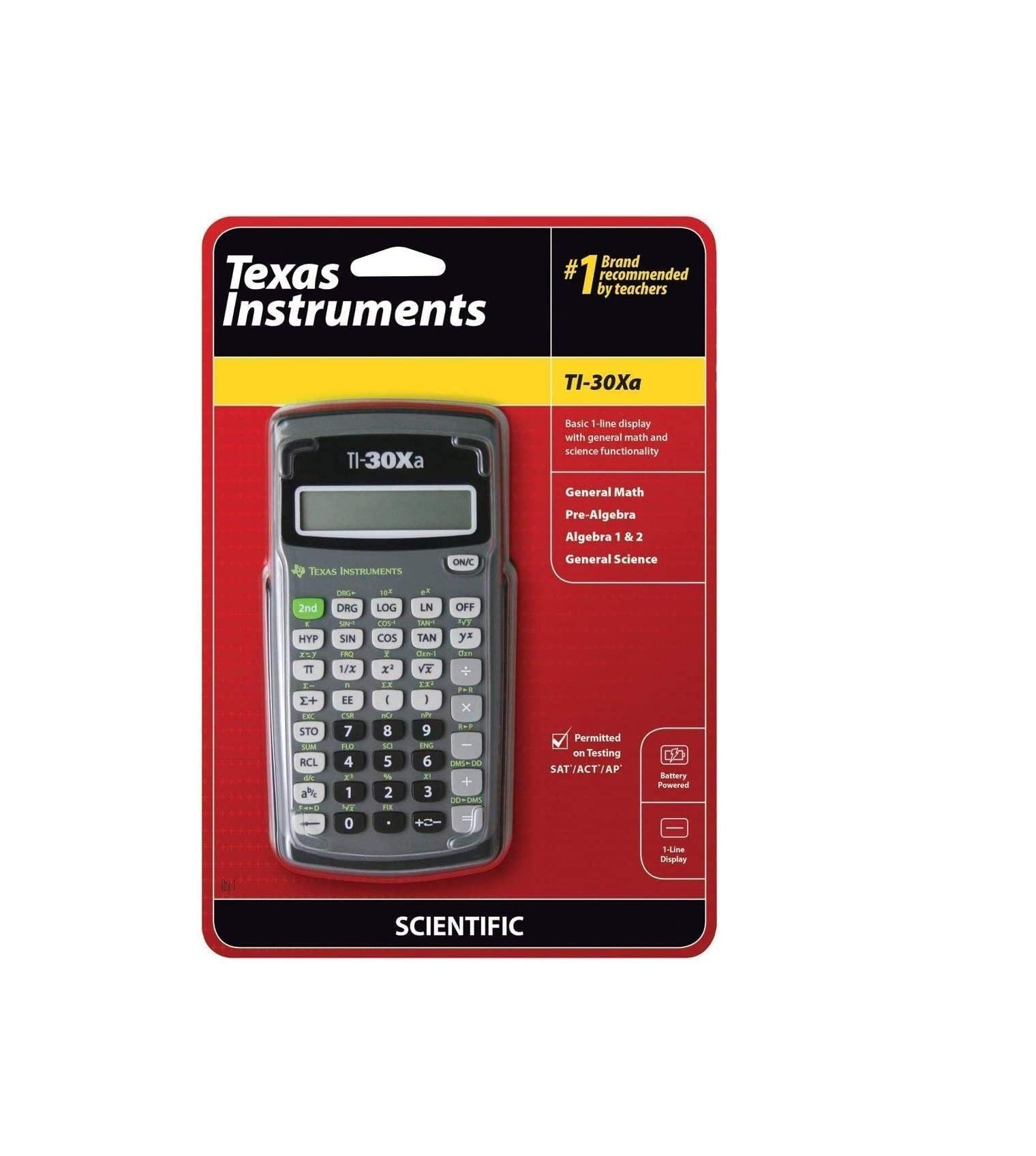 TI-30XA Scientific Calculator