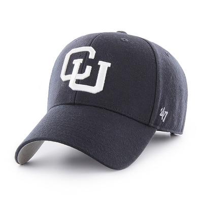 Columbia University 47 Brand MVP Basic Wool Structured Adjustable Hat