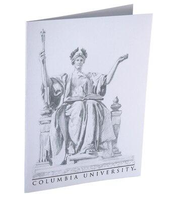 Columbia University Set of 10 Flat Ink Sketchnote Cards