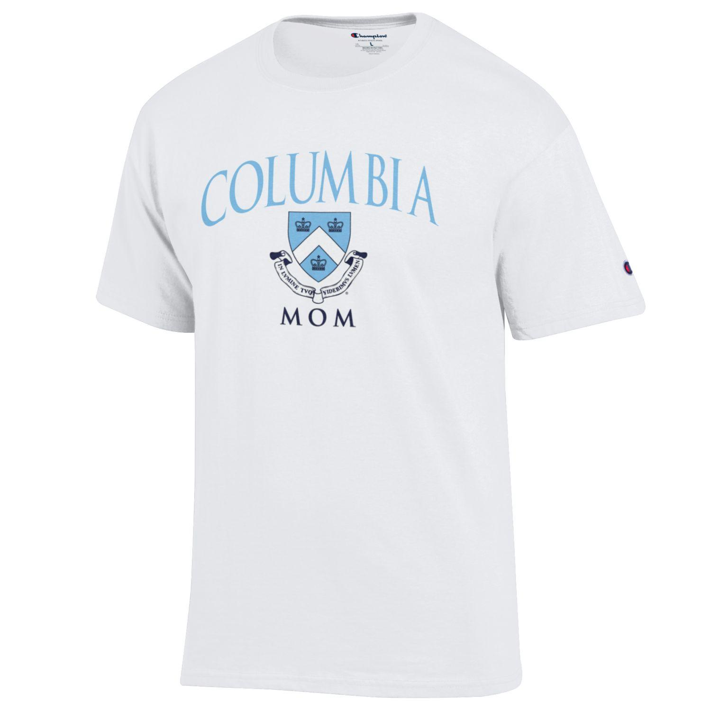 Columbia University Champion 100% Cotton T-Shirt