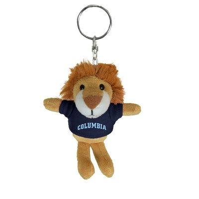 Columbia University 4in Plush Lion Keychain