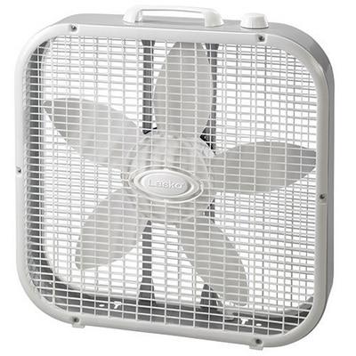 Lasko 20 inch Box Fan White