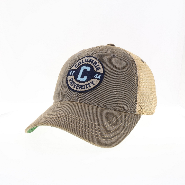 Columbia University Legacy Old Favorite Trucker Adjustable Hat