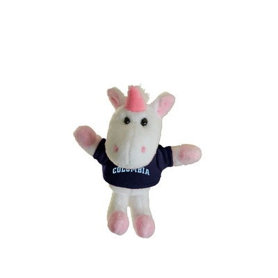 Columbia University 4in Plush Unicorn Magnet