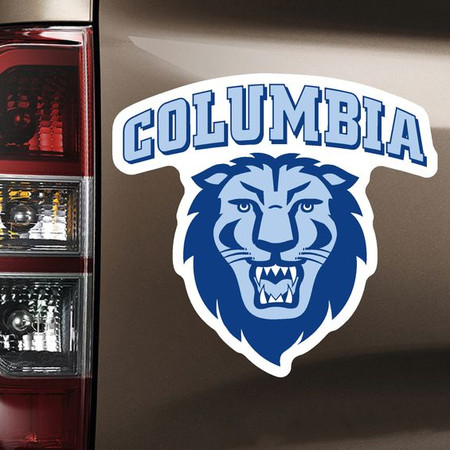 Columbia University Color Shock Car Magnet