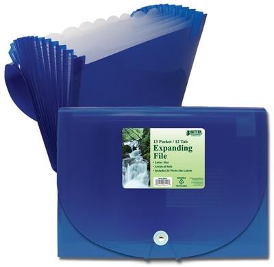 Better 13 Pocket Expanding File Holder