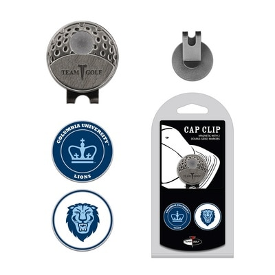 Columbia University   Cap clip with 2 Double Sided Magnetic Markers