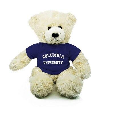"Columbia University 10"" Light Brown Bear"