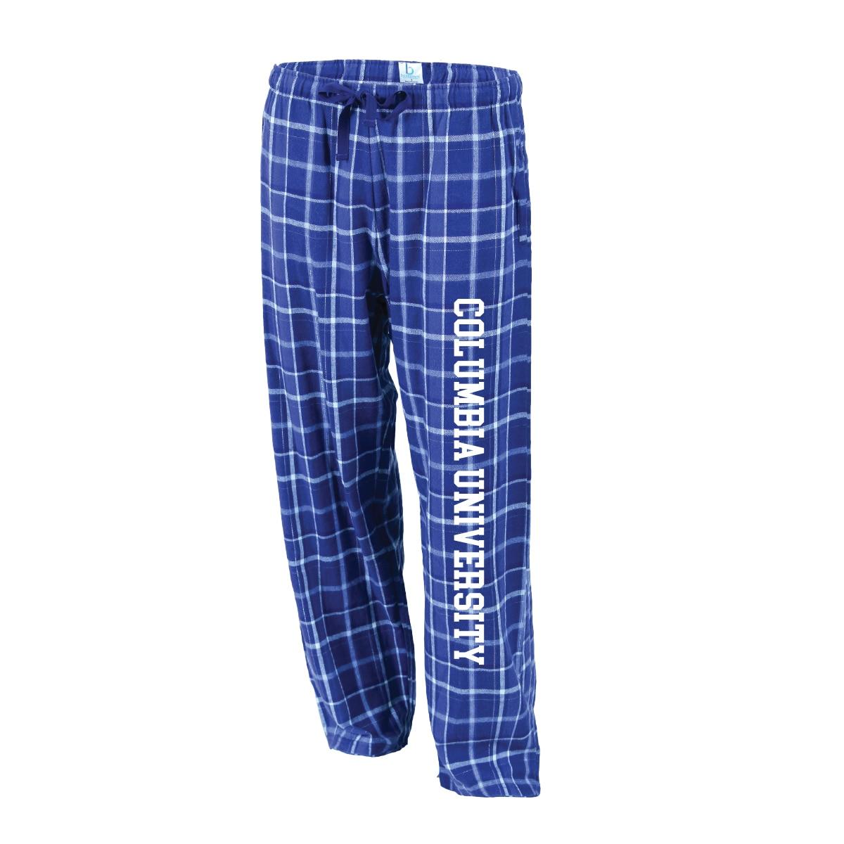 Columbia University Boxercraft Tie Cord Flannel Pant