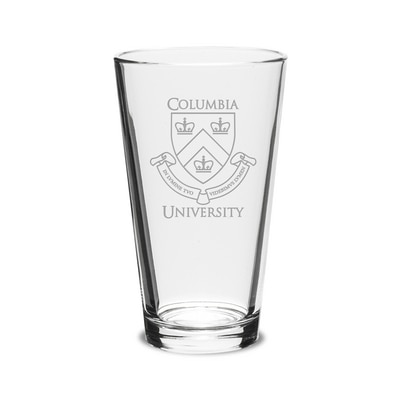 Columbia University Pint Glass with Seal