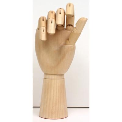 """Art Alternatives Articulated Wooden Hands 12"""" Articulated Wooden Right Hand"""
