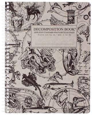 Gargoyles Coilbound Decomposition Book Unlined 7.5x9.75