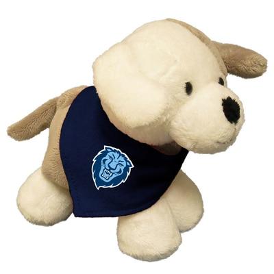 Columbia University 6in Plush Puppy Short Stack with Bandana