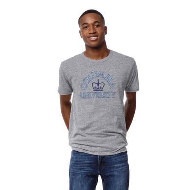 Columbia University League Victory Falls Short Sleeve T Shirt