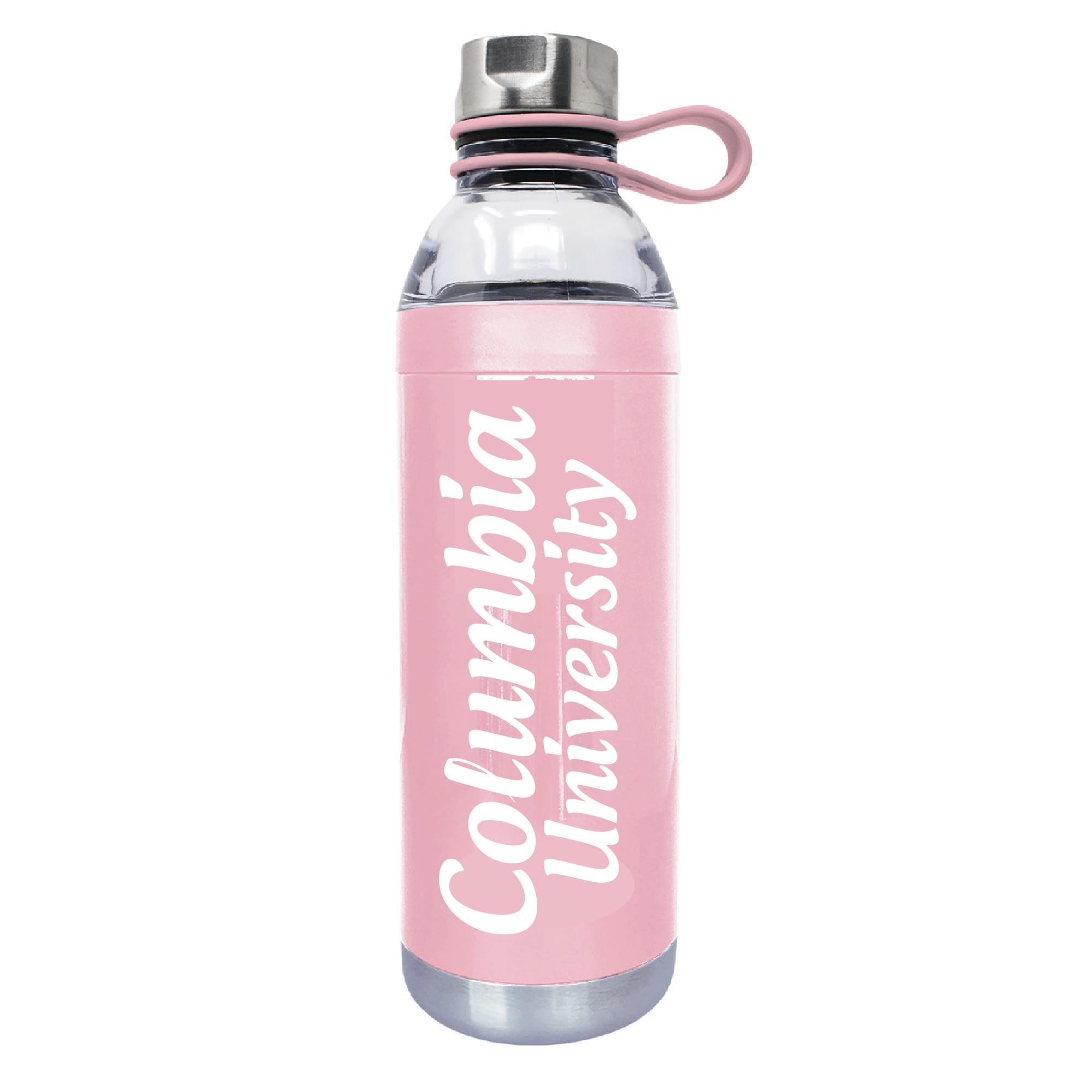 Columbia University 18oz Plastic Water Bottle