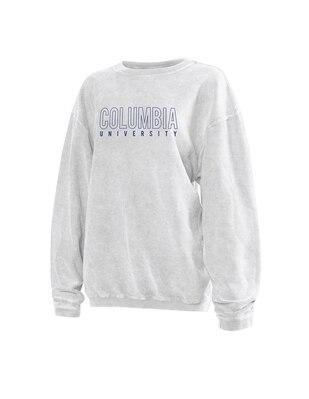 Columbia University Women's Corded Pullover Sweatshirt