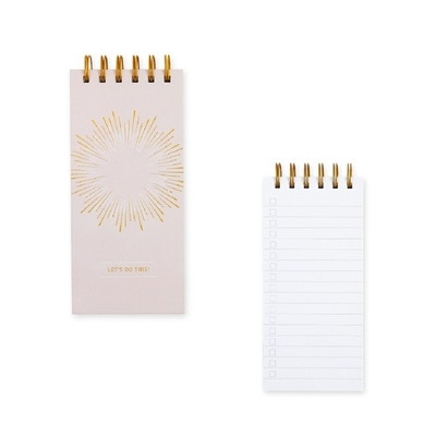 Pierre Belvedere Festive Sparkle Sprial Notepad 5 x 7.5