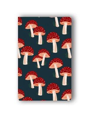 Navy Mushroom Classic Layflat Notebook