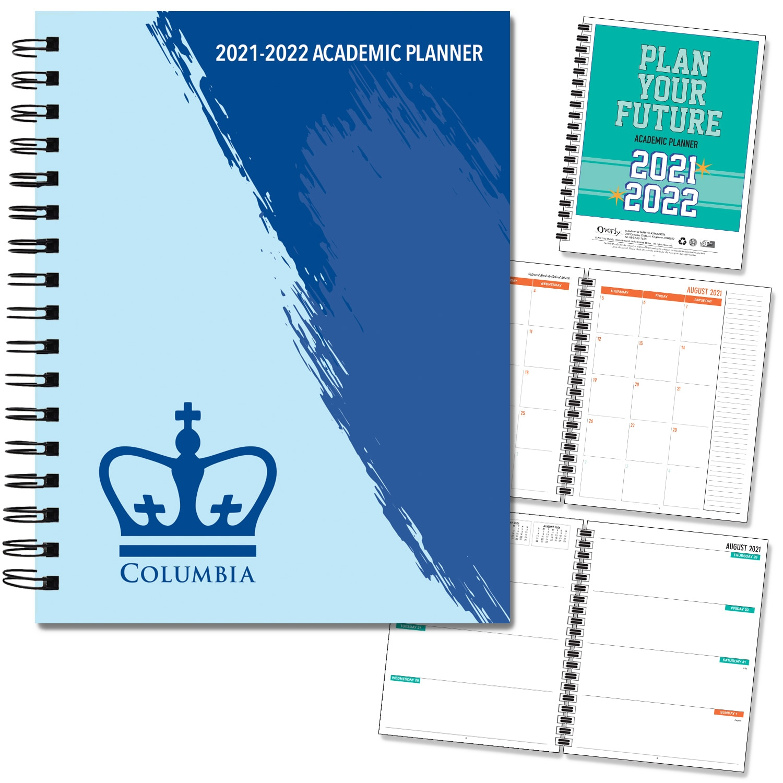 Columbia University 20-21 7x9 Hard Cover Planner