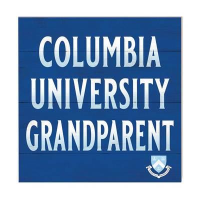 Columbia University Team Color Grandparents Sign
