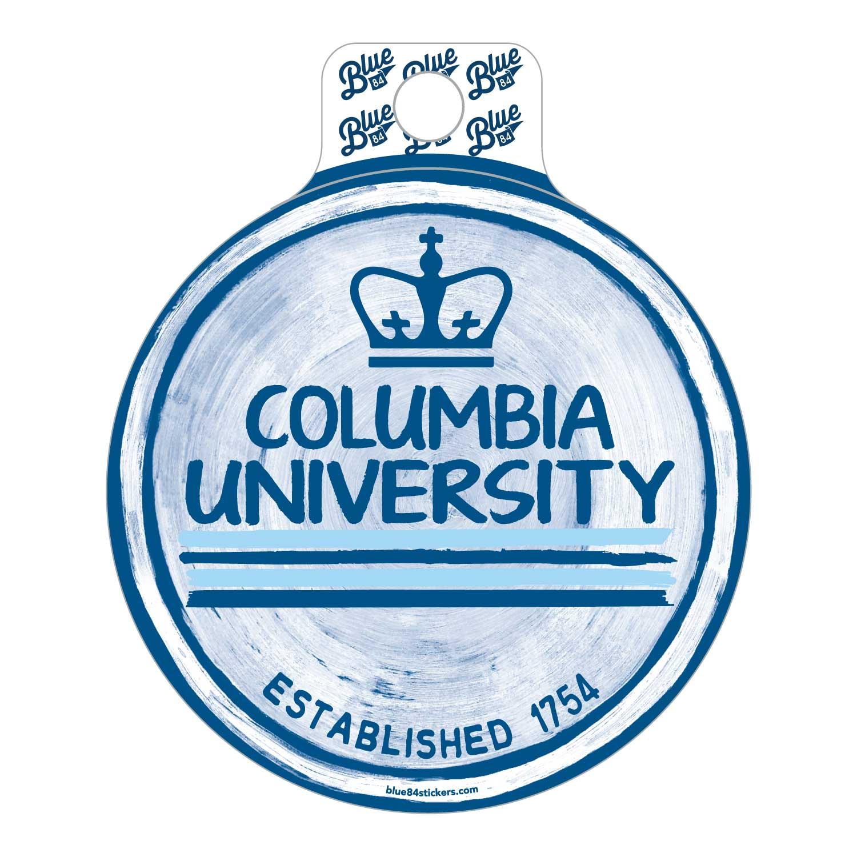 Columbia University Sticker - delicato cirle