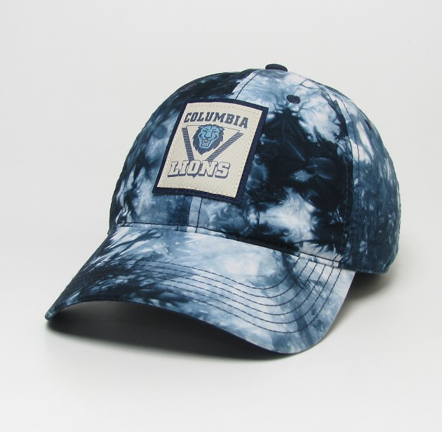 Columbia University Legacy Tie Dye Unstructured Adjustable Hat