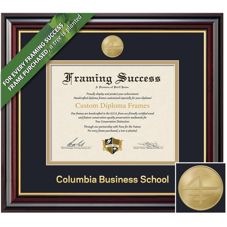 Framing Success 10.5 x 12.5 Windsor Gold Medallion Business Diploma Frame