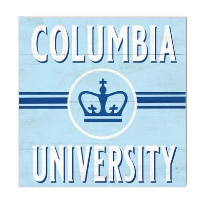 Columbia University Team Logo Retro Sign
