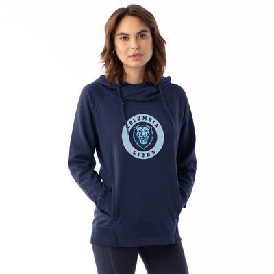 Columbia University Women's Centered Frolic Pullover Hoodie