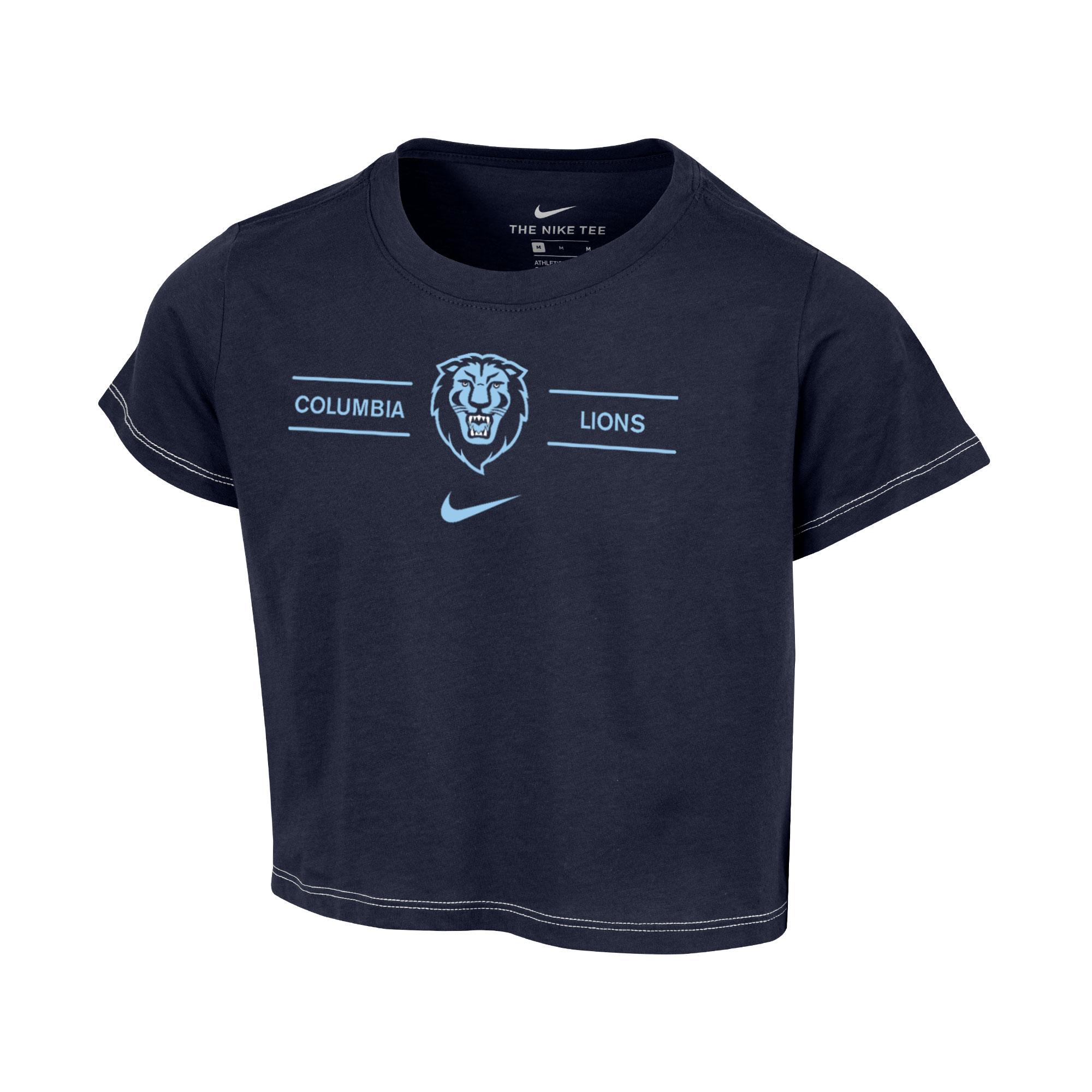 Columbia University Nike Girl's Crop Top