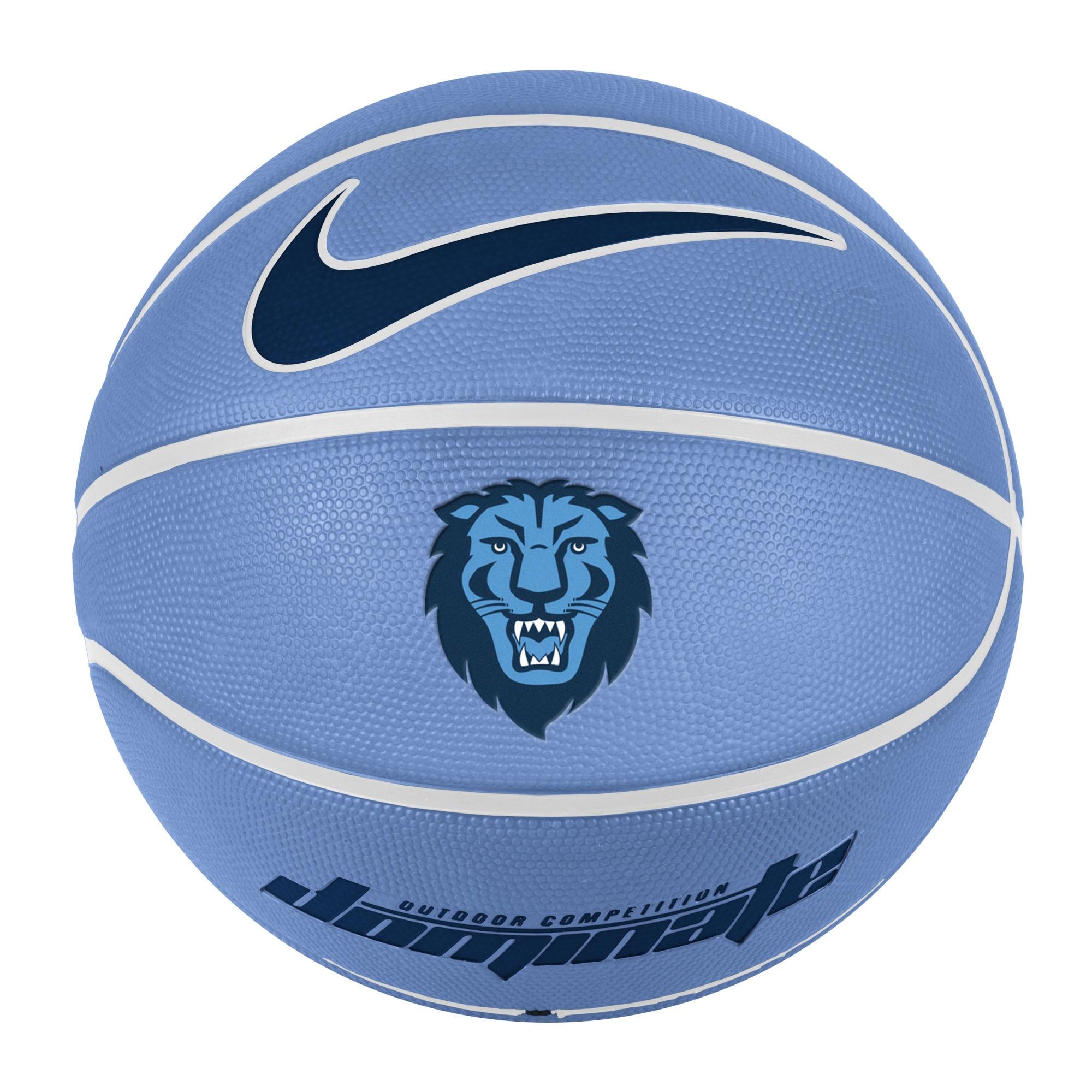 Columbia University Nike Full Size Rubber Basketball