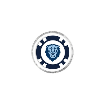 Columbia University Team Golf Collectible Poker Chip