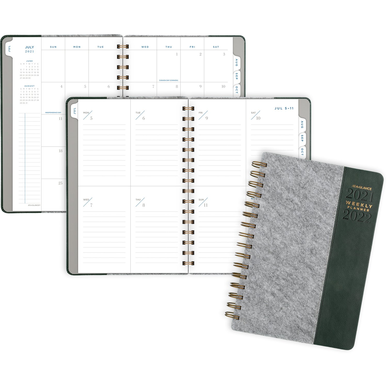 AAG AY 21-22 Gray Planner 5x8