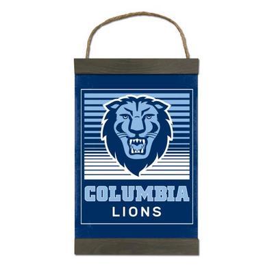 Columbia University Canvas banner art dcor home decoration gift