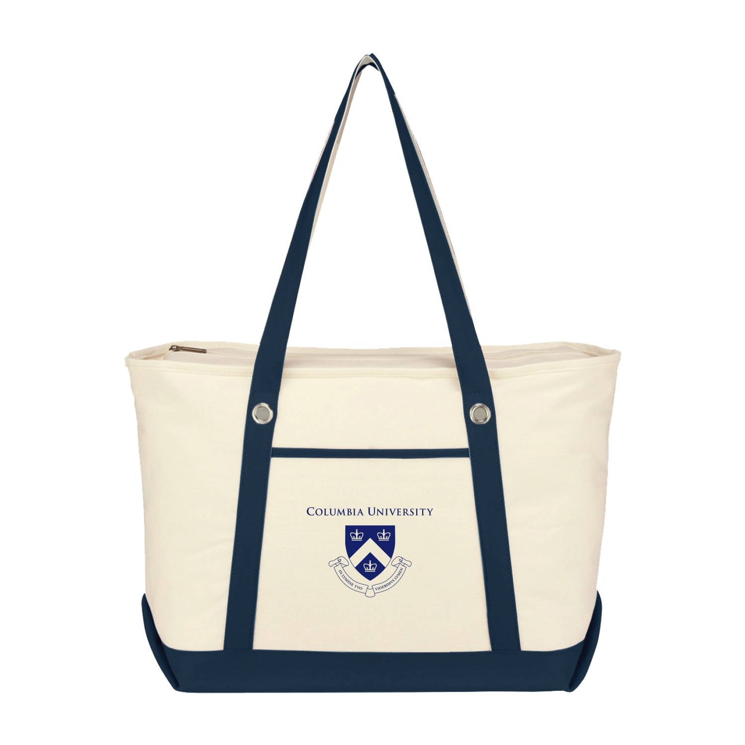 Columbia University Large Canvas Boat Tote