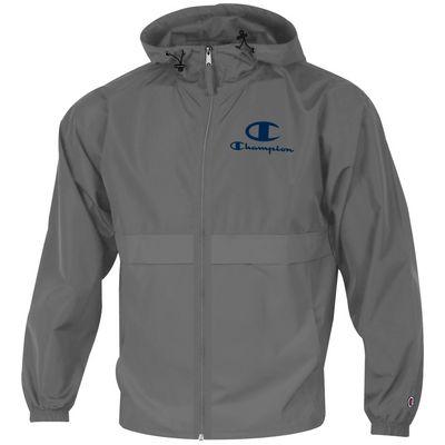 Columbia University Champion Full-Zip Packable Jacket