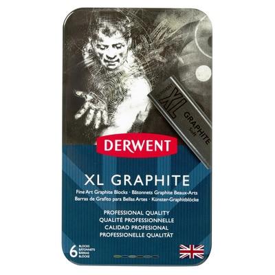 Derwent XL Graphite 6-Piece Tin Set