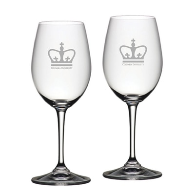 Columbia University Riedel Red Wine Glass 2pk