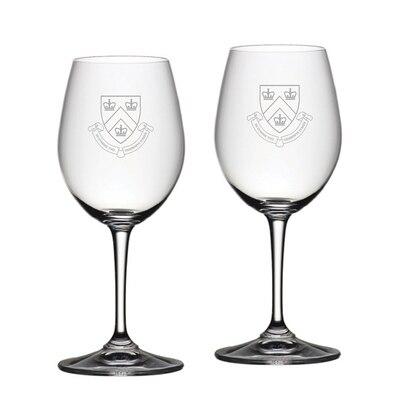 Columbia University Riedel White Wine Glass 2pk