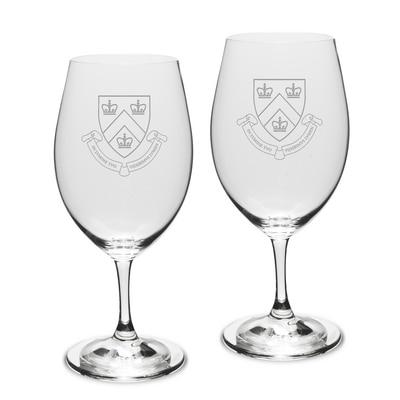 Columbia University Riedel Wine Glass 2pk