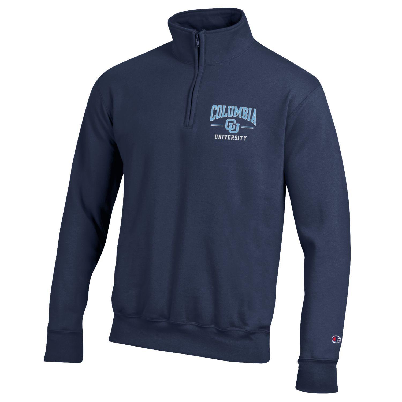 Columbia University Champion Powerblend Quarter-Zip Pullover