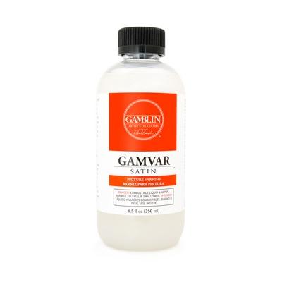 Gamblin Gamvar Picture Varnish, Satin, 8.5 oz.