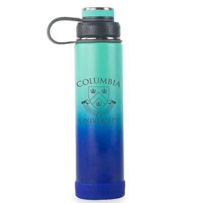 Columbia University 24 oz Ecovessel Boulder Ombre Water Bottle