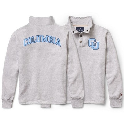 Columbia University League 1636 Snap Up Pullover