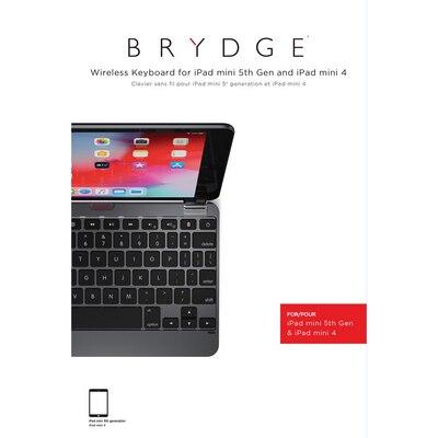 Brydge 7.9 Alumimum BT Keyboard Space Gray
