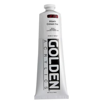 Golden(R) Heavy Body Acrylic, 5 oz., Alizarin Crimson Hue