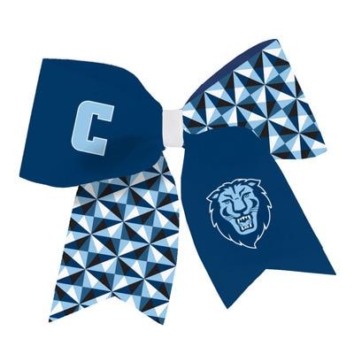 Columbia University Spirit Cheer Gear Ribbon Barrette
