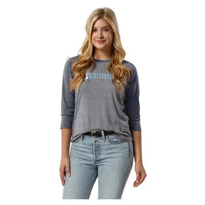 Columbia University League Reclaim Womens Shot Sleeve T Shirt